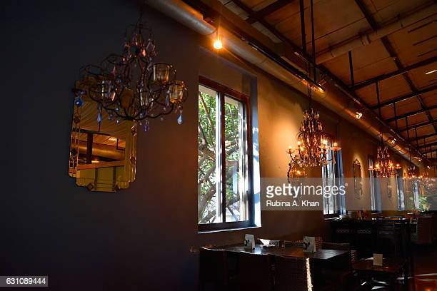 The Tasting Room at Good Earth Lower Parel on January 6 2017 in Mumbai India