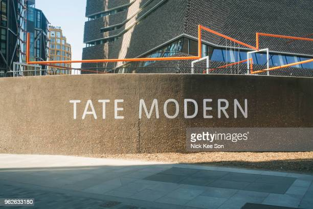 The Tate Modern typeface and identity