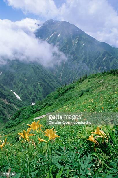 The Tateyama-Kurobe Alpine Route, Northern Alps, Japan