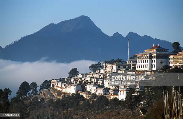 The Tawang monastery founded in the 17th century is one of the largest Tibetan Buddhist monasteries More than 500 monks live in there