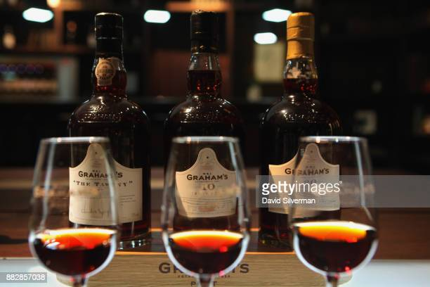 'The Tawny' Graham's 10 Years Old and Graham's 20 Years Old all three of which are aged Tawny ports are served in the Private Vintage tasting room at...