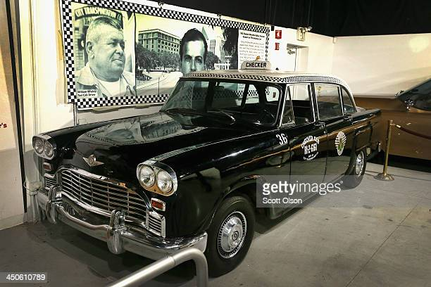 The taxi hailed by accused Kennedy assassin Lee Harvey Oswald to return home from the Texas School Book Depository following Kennedy's assassination...