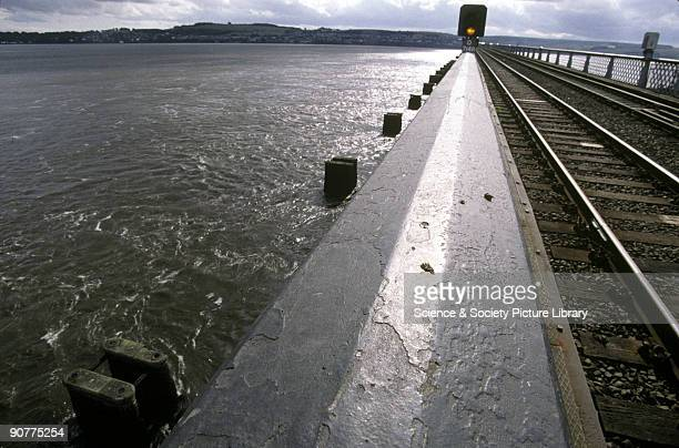 The Tay bridge Dundee by Lynn Patrick 2000 This railway bridge was first built in 1878 However the following year it collapsed due to hurricane force...