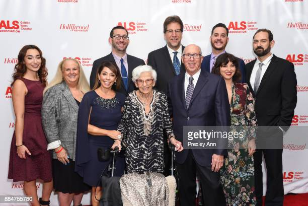 The Tazman Family and Fred Fisher attend ALS Golden West Chapter Hosts Champions For Care And A Cure at The Fairmont Miramar Hotel Bungalows on...