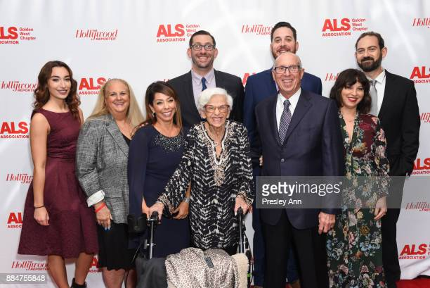 The Tazman Family attends ALS Golden West Chapter Hosts Champions For Care And A Cure at The Fairmont Miramar Hotel Bungalows on December 2 2017 in...