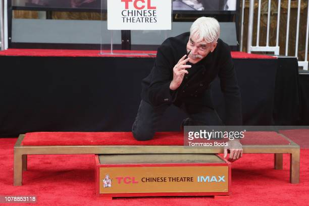 The TCL Chinese Theatre Hosts Sam Elliott Hand And Footprint Ceremony at TCL Chinese Theatre on January 7 2019 in Hollywood California