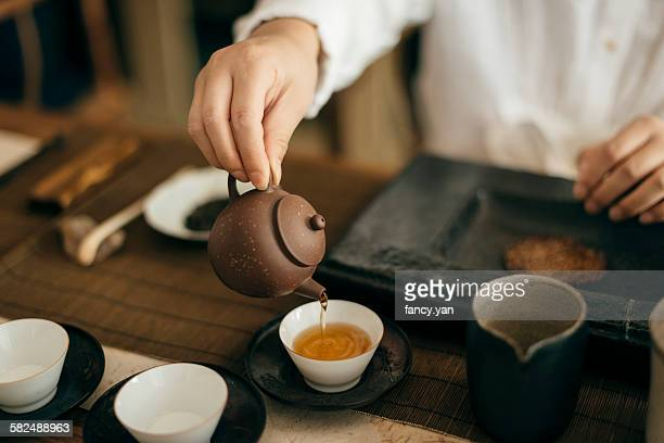 the tea ceremony - ceremony stock pictures, royalty-free photos & images