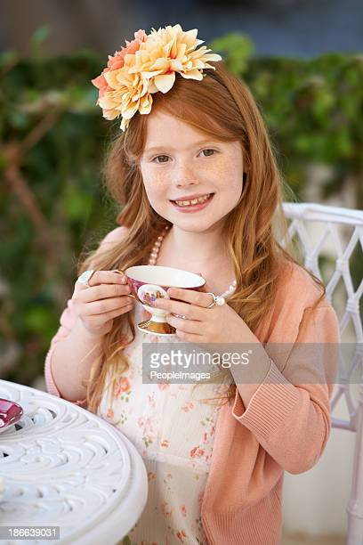 The tea party hostess
