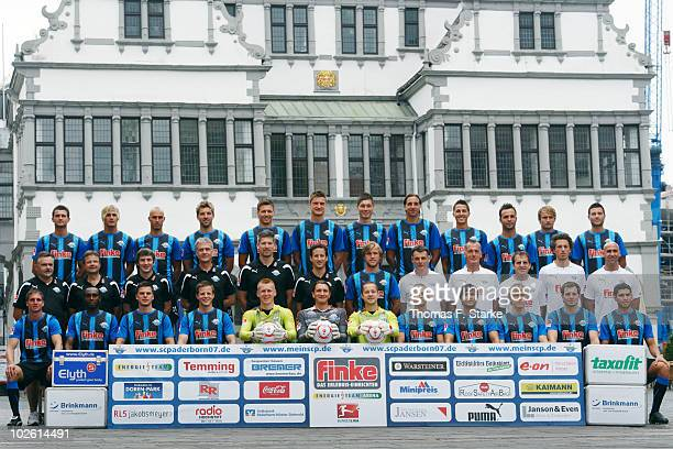 The team Enis Alushi, Soeren Brandy, Daniel Brueckner, Sven Krause, Soeren Gonther, Markus Palionis, Christian Strohdiek, David Jansen, Jens Wemmer,...