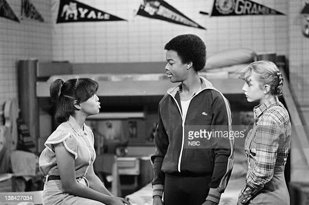 RENT STROKES The Team Episode 4 Pictured Kim Fields as Dorothy 'Tootie' Ramsey Todd Bridges as Willis Jackson Dana Plato as Kimberly Drummond
