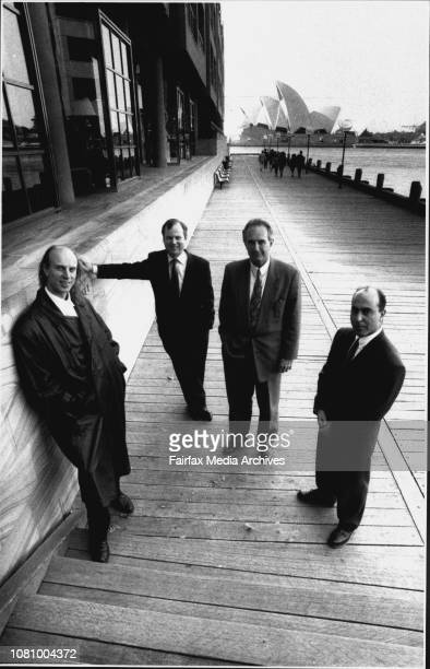 The team from Belgiovane Atkinson and Moses Advertising Agency 1r in Horizontal Pic Malcolm Spry Phil Atkinson Reg Moses and Rob BelgiovaneTaken at...