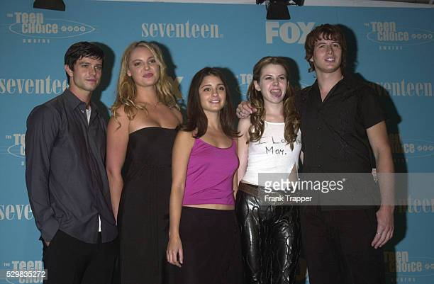 The team from TV series 'Roswell'