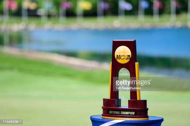 The team national championship is seen during the Division III Men's Golf Championship held at Keene Trace on May 17, 2019 in Nicholasville, Kentucky.