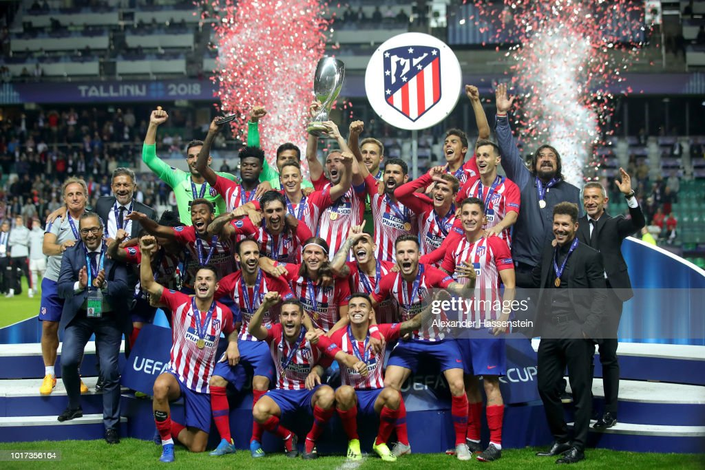 Real Madrid v Atletico Madrid - UEFA Super Cup : News Photo