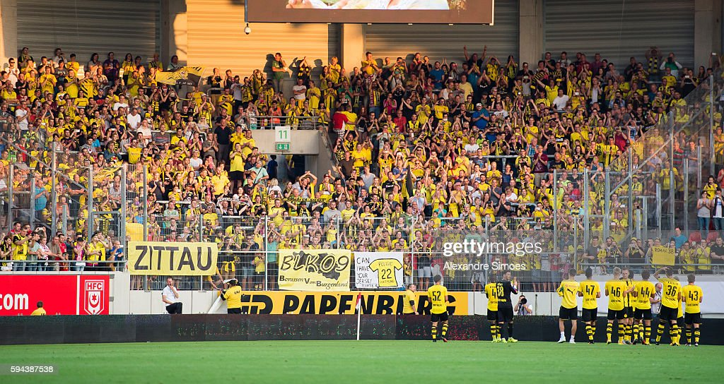 Hallescher FC v Borussia Dortmund - Friendly Match : News Photo