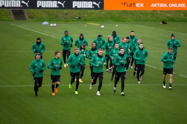 DEU: Borussia Moenchengladbach - Press Conference And Training Session