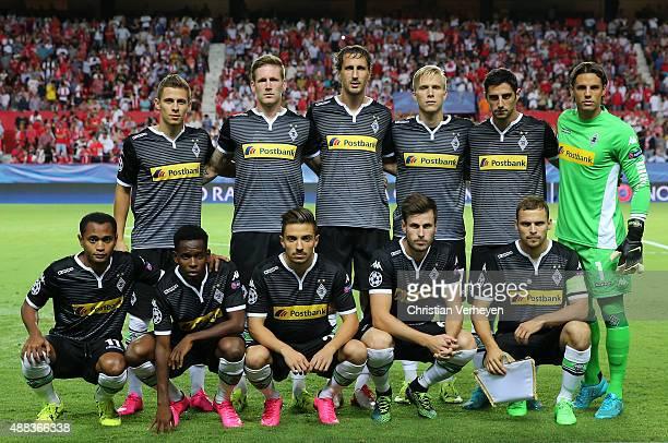 The Team of Borussia Moenchengladbach Thorgan Hazard Andre Hahn Roel Brouwers Oscar Wendt Lars Stindl Yann Sommer Raffael Ibrahima Traore Julian Korb...