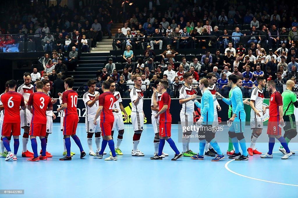 Germany v England - Futsal International Friendly : News Photo