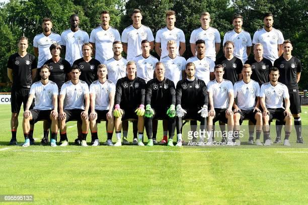 The team of Germany Marvin Plattenhardt Lars Stindl Timo Werner Bernd Leno MarcAndre ter Stegen Kevin Trapp Sebastian Rudy Joshua Kimmich Amin Younes...