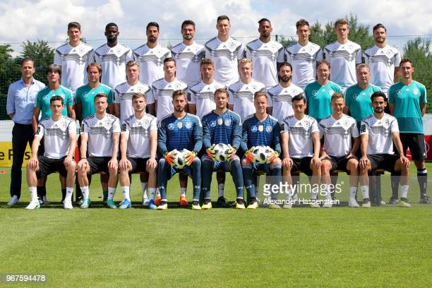 The team of Germany Sebastian Rudy Marco Reus Timo Werner Kevin Trapp Manuel Neuer MarcAndre Ter Stegen Mesut Oezil Joshua Kimmich Ilkay Guendogan...
