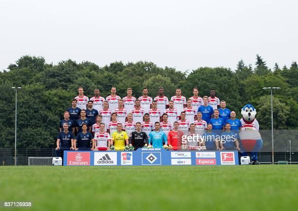 The Team of Hamburger SV Back Bjarne Thoelke Walace PierreMichel Lasogga Sven Schipplock Mergim Mavraj Gideon Jung Kyriakos Papadopoulos Albin Ekdal...