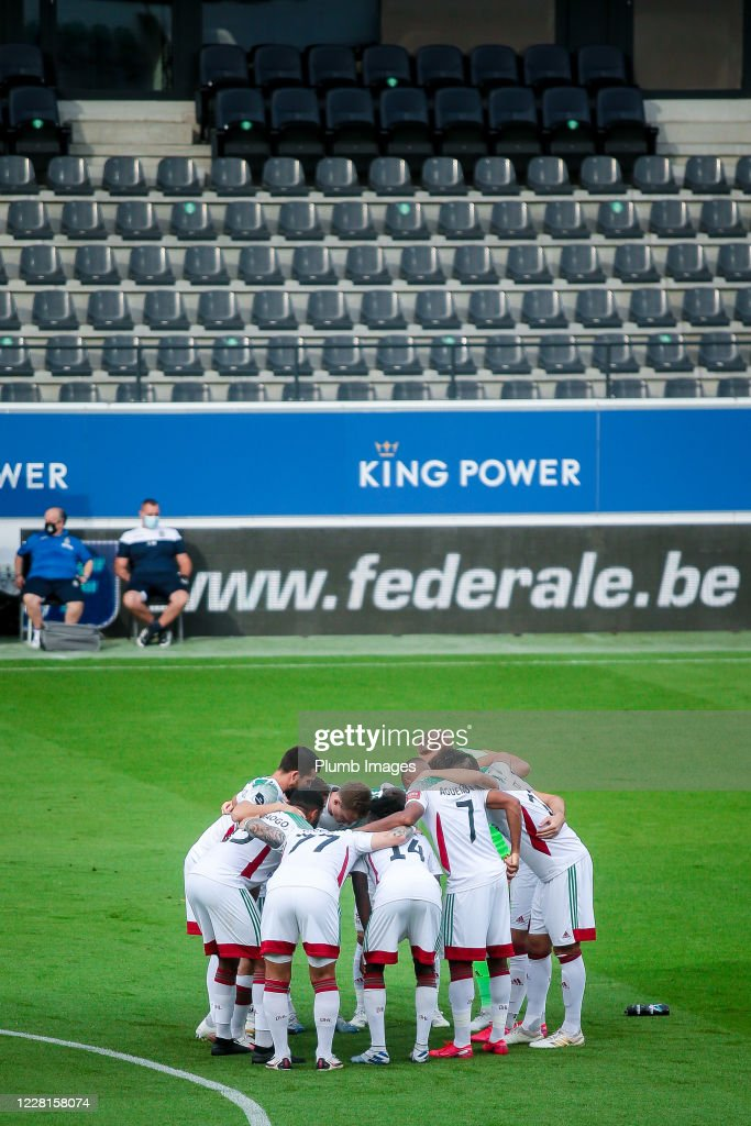 The Team Of Oh Leuven Ahead Of The Jupiler Pro League Match Between News Photo Getty Images