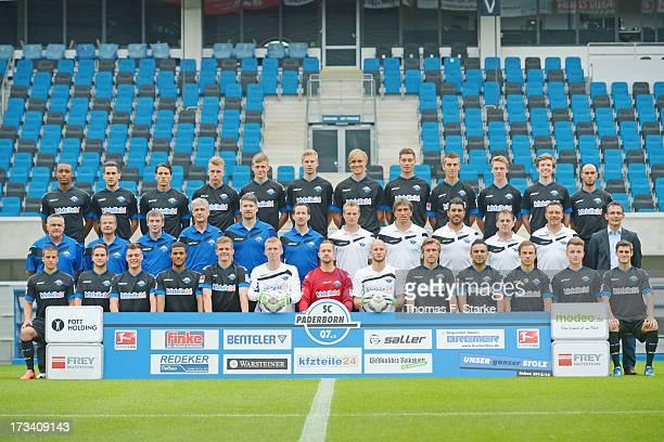 The team of Paderborn Saliou Sane Mario Vrancic Jens Wemmer Rick ten Voorde Tim Welker Thomas Bertels Martin Amedick Christian Strohdiek Uwe...
