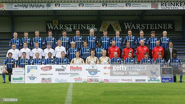 The team of Paderborn Thorsten Becker Soeren Gonther Rene Mueller Thomas Klaesener Dusko Djurisic Emil Noll Daniel Brinkmann Christian Strohdiek...