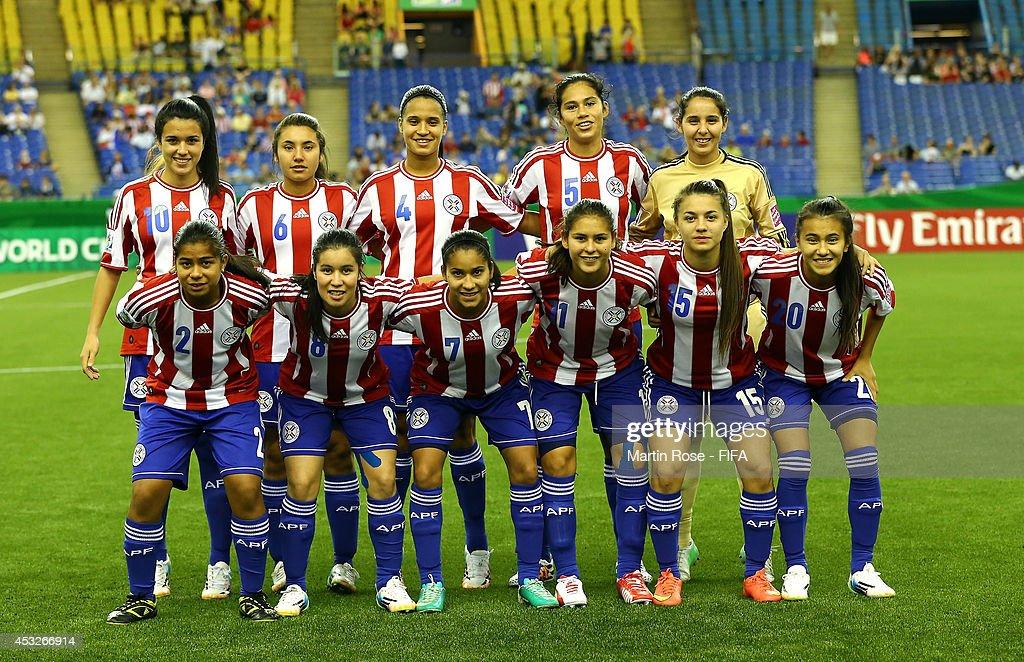 Paraguay Soccer Team 2014