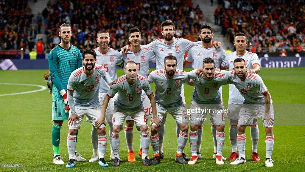 Spain v Argentina - International Friendly : Nachrichtenfoto