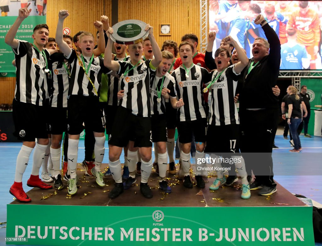 German Futsal Championship of A, B and C Juniors : News Photo