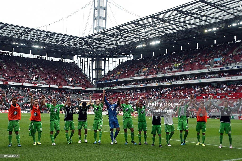 1. FC Koeln v VfL Wolfsburg  - Bundesliga : Nachrichtenfoto