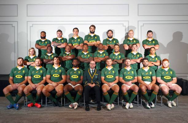 AUS: The Rugby Championship: South Africa Team Photo