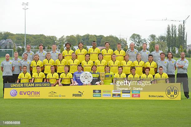 The team Staff member Dr Andreas Schlumberger staff member Andreas Beck assistant coach Florian Wangler Patrick Owomoyela Neven Subotic Felipe...