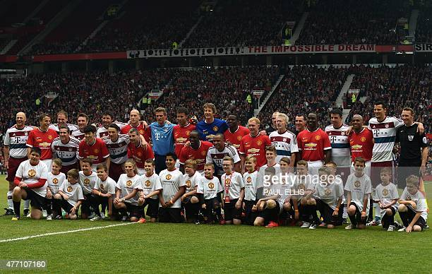 60 Top Manchester United Legends V Bayern Munich All Stars
