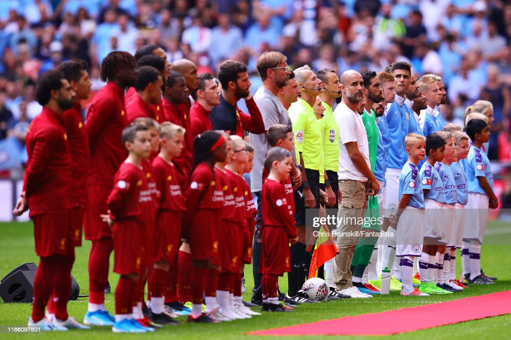 Liverpool v Manchester City - FA Community Shield : ニュース写真