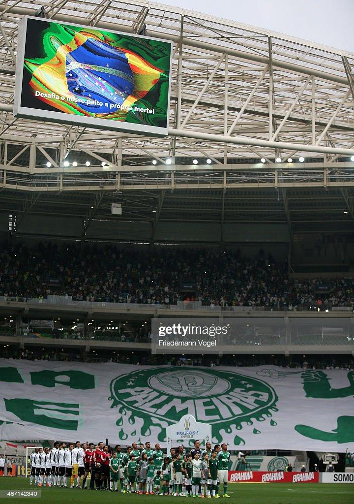Palmeiras v Corinthians - Brasileirao Series A 2015 : News Photo