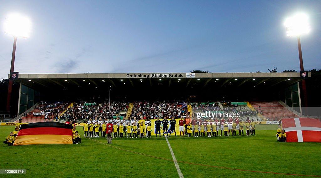 U19 Germany v U19 Denmark - International Friendly : News Photo