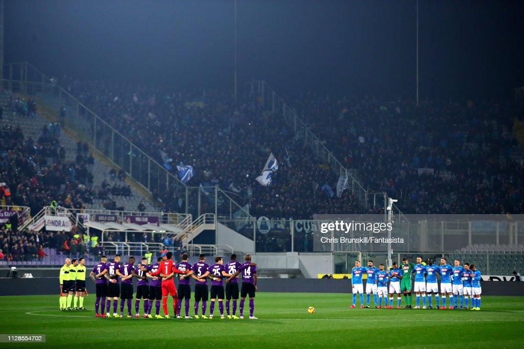 ACF Fiorentina v SSC Napoli - Serie A : ニュース写真