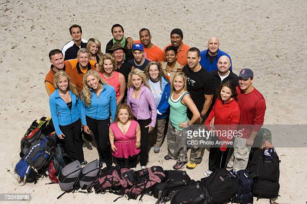 The teams to return for The Amazing Race AllStars to air on the CBS Television Network Back row lr Eric and Danielle Ozzy and Danny Uchenna and Joyce...