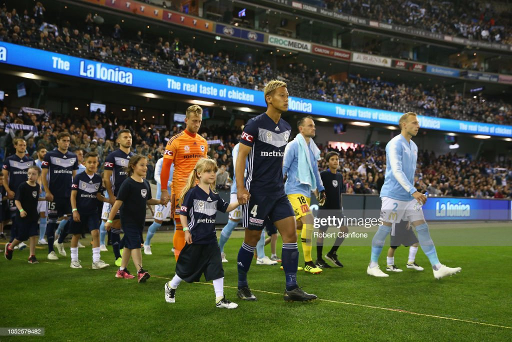 A-League Rd 1 - Melbourne Victory v Melbourne City : News Photo
