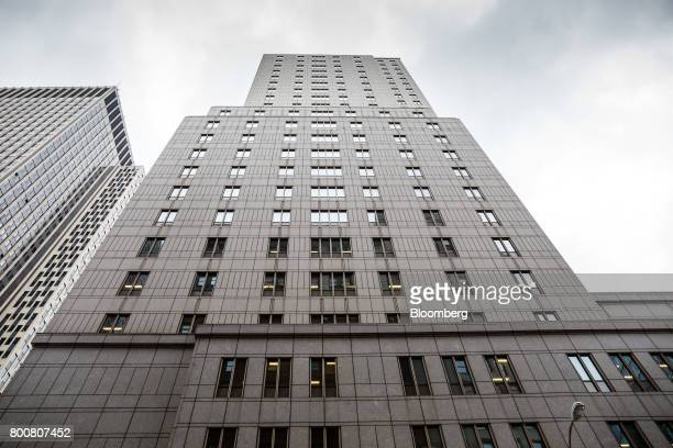 The Ted Weiss Federal Building which houses offices of the Internal Revenue Service stands in New York US on Friday June 23 2017 The IRS online...