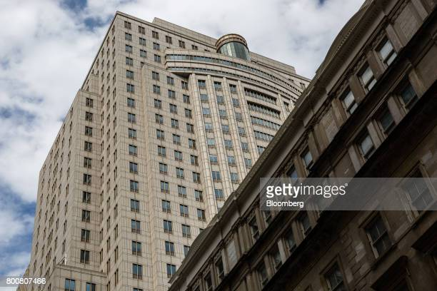 The Ted Weiss Federal Building which houses offices of the Internal Revenue Service stands in New York US on Saturday June 24 2017 The IRS online...