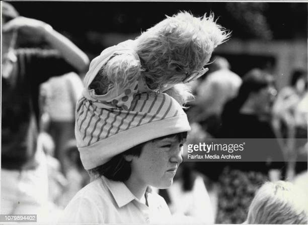 The Teddy Bears Picnic at Wentworth Park in Aid Childrens Hospital CamperdownA teddy on the head is worth two in the bush September 15 1985