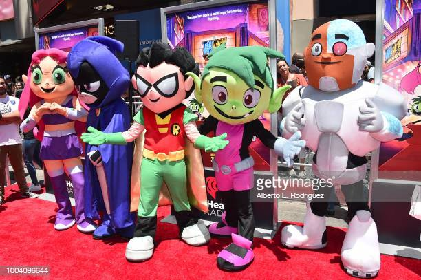 60 Top Los Angeles Premiere Of Warner Bros Animations Teen Titans Go