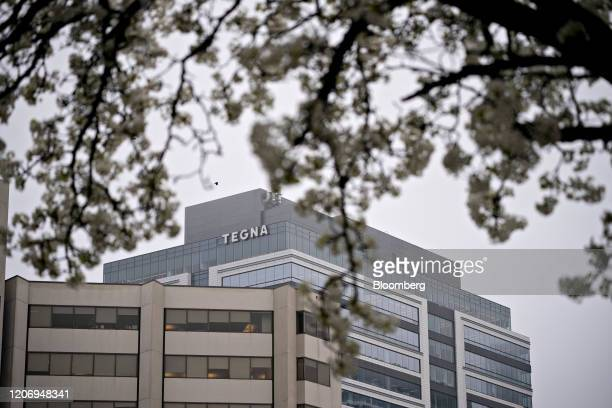 The Tegna Inc headquarters stands in McLean Virginia US on Friday March 2020 Comedian and TV producer Byron Allen has made a $20ashare allcash offer...