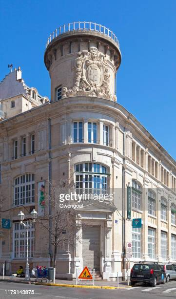 the telegraph in toulon - gwengoat stock pictures, royalty-free photos & images