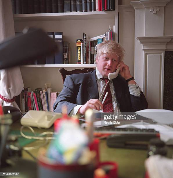 The Telegraph journalist and editor of the New Statesman Boris Johnson