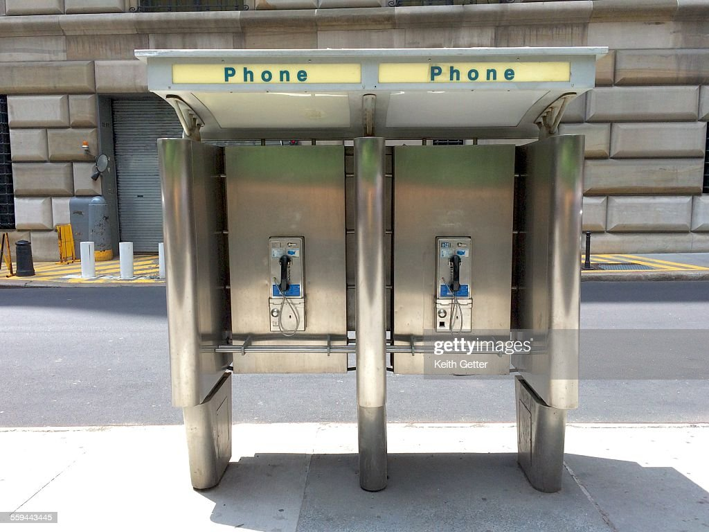 The Telephone Booth : Stock Photo