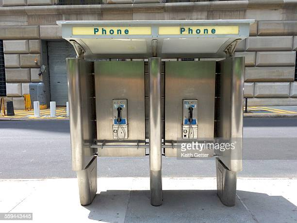 the telephone booth - telephone booth stock pictures, royalty-free photos & images